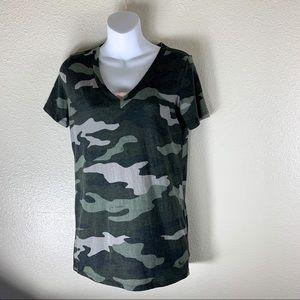 Victoria Secret camouflage t- shirt.